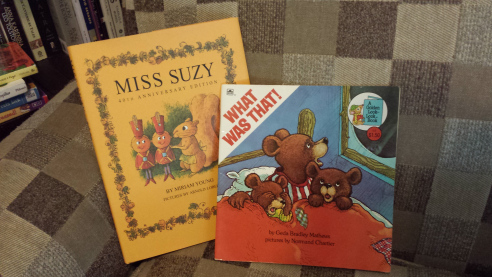 A couple of my favorite children's books from my childhood.
